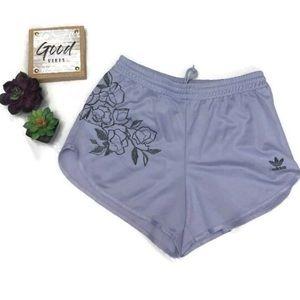 Ladies Adidas lavender Shorts